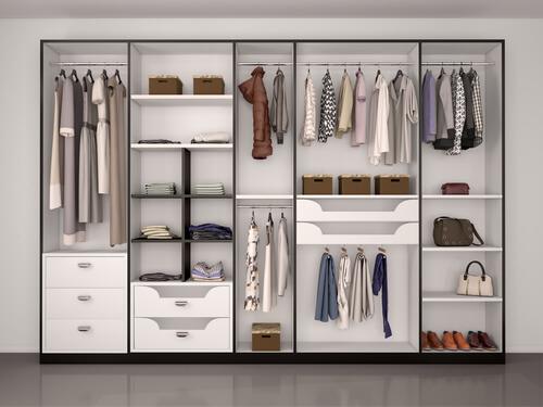 Soluzione cabina armadio personalizzata